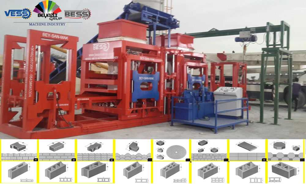 Machine Bloc beton 2